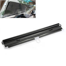 Black Car Window Retractable Blind Sun Shade Shield Visor PVC 50x125cm Universal