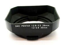 PENTAX SMC 28mm/35mm WIDE ANGLE LENS HOOD - UK DEALER