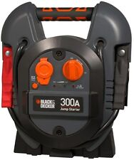BLACK+DECKER Portable Jump Starter 300 Amp, V6 Engines, Cars, Light Duty Trucks