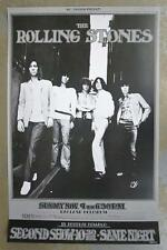 THE ROLLING STONES OAKLAND 1969 CONCERT POSTER 3RD