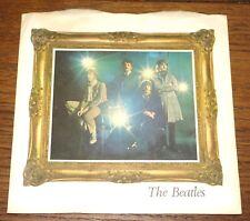 "BEATLES STRAWBERRY FIELDS ORIGINAL UK PARLOPHONE 7"" PICTURE SLEEVE 1967 NO VINYL"