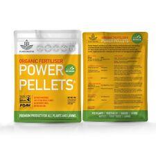 POWER PELLETS - Certified Organic Slow Release Fertiliser Pellets for ALL PLANTS