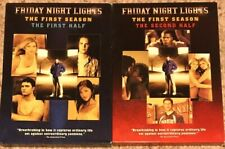 FRIDAY NIGHT LIGHTS Complete Season 1 Both Halfs DVD TV Series Movie Box Set