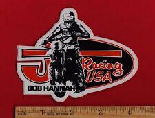 BOB HANNAH JT RACING STICKER Vintage Motocross Honda Suzuki Yamaha Kawasaki KTM