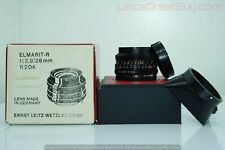 Leica Elmarit-R 28mm f/2.8 MF 3 Cam Lens Boxed #3368405