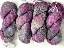 Ella Rae Lace Merino #120 Burgundy//Blue//Plum//Purple 100g Extra Fine Merino