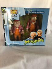 New Palisades Toys The Muppets Statler & Waldorf Figurines Vaudeville 2003