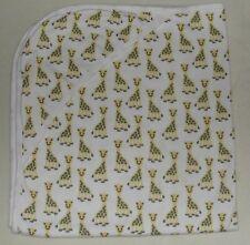Roberta Roller Rabbit Giraffe Baby Swaddle Blanket Hooded Prima Cotton
