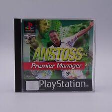 Anstoss Premier Manager Sony Playstation 1 PS1 PAL Spiel Game Fans Spieler