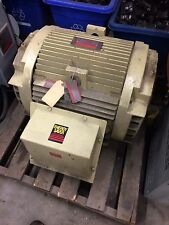 Ge 100 Hp Double Ended Electric Motor 460 V Three Phase Used