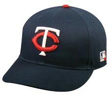 Minnesota Twins MLB OC Sports Hat Cap Solid Blue White Red Logo Team Adjustable
