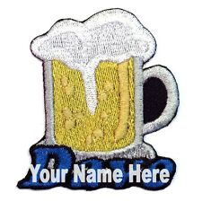 Beer Custom Iron-on Patch With Name Personalized Free