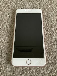 Apple iPhone 6S PLUS CDMA +GSM Rose Gold For Parts Or Repairs A1687 Working Cond