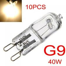 10 x G9 40W Halogen Light Bulb Long Life Capsule Lamp Warm White Clear Bulbs
