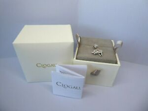 Clogau Gold Silver & Rose Gold Indian Elephant Charm RRP £109