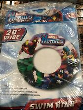 "Marvel Heroes 20"" Wide Swim Ring Ages 3+"