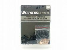 Proto Max Magnetic Knuckle Coupler (20-Pair) - Walthers Proto #920-6002