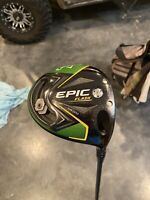 Epic Flash Sub Zero 9 degree Driver/Hzrdus Smoke Black Shaft 6.0 Stiff 60 gram