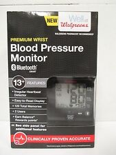 WALGREENS PREMIUM WRIST BLOOD PRESSURE MONITOR BLUETOOTH WGNBPW-760BTA - RC 4598
