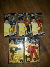 Lot of 5 Michael Jackson Thriller Doll -Grammy Awards-American Music Awards