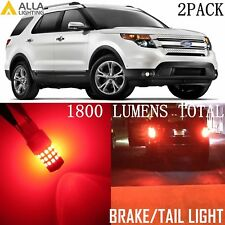 Alla Lighting 39-LED Brake/Stop Tail Lights Red Bulbs Lamps for Ford Explorer 2x