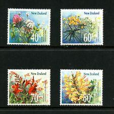 V662 Neuseeland 1989 Flora Wildblumen 4v. MNH