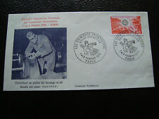 FRANCE - enveloppe 7 8/2/1976 (cheminots) (cy50) french