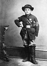 1863-Young Sgt. Johnny Clem, Army of the Cumberland- 22nd Michigan Infantry