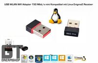 USB WLAN Wifi Adapter Wireless 150Mbit für Enigma2 Vu+,DreamBox, GigaBlue, Mini