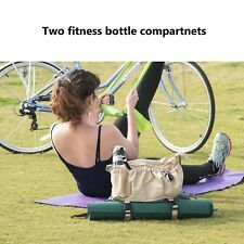 Yoga Mat Bag Exercise Backpack - Shoulder and Back Straps, Perfect For Bicycle
