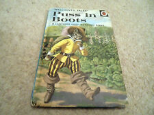 VINTAGE LADYBIRD BOOK - Puss in Boots, Well Loved Tales Series 606D - 24p net