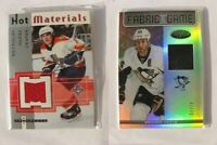 2012-13 Panini Certified FOG-BOR Brooks Orpik 61/75 black fabric of the game PLA