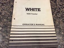 white 1655 tractor manual