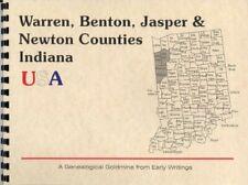 IN BENTON/JASPER/NEWTON/WARREN COUNTY INDIANA~BIOGRAPHIES/GENEALOGY from 1883