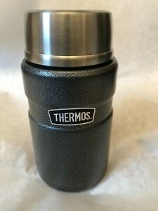 Thermos Stainless King 24oz Vacuum Insulated Food Jar Beverage Container Green