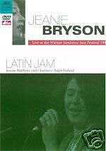 JEANIE BRYSON - LATIN JAM - LIVE AT WARSAW JAMBOREE 1991(NEW DVD)