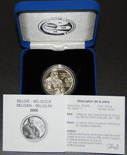 Belgica 10 Euros 2006 Justus Lipsius Silver PP / Belgien Blgique European Union