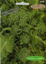 300 Semi/seeds CAVOLO BROCCOLO RICCIO DI SARNO