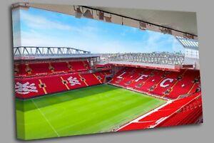 Liverpool F.C. Stadium Canvas Wall Art Picture Print