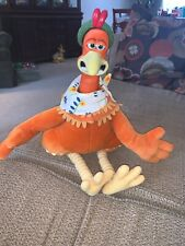 "18"" Chicken Run Ginger Plush Toy 2000 Playmates Toys"