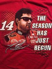 Tony Stewart NASCAR #14 The Season Has Just Begun T Shirt Size XL