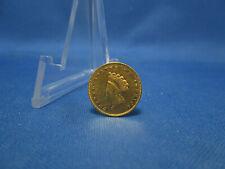 1854 U.S. Indian Princess Head $1 One Dollar Gold Coin