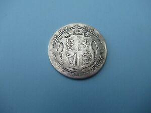 Collectable Grade 1910 Half Crown Silver