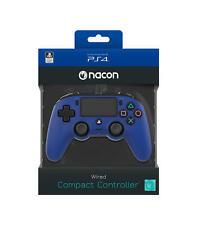 Mando con cable Nacon Compacto azul para PS4 PC NUEVO envio gratis