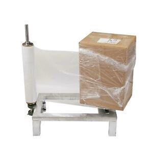 Parcel Carton Box Bundling Strapping Film Wrapping Stretching Manual Machine