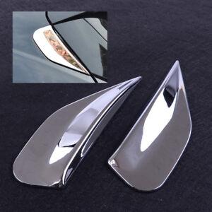 2Pcs Rear Window Spoiler Side Pillar Post Trim fit for Buick Encore Opel se