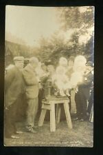 GATESGARTH Yorkshire  'The Mayor's Babies' being Weighed at Garden Party 1906 RP