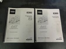 Tennant 8300 Sweeper Scrubber Parts and Operator Manual