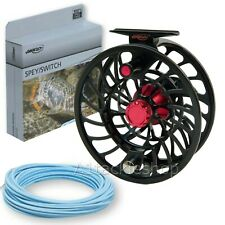 Airflo V2 Trout and Salmon Fly Fishing Reels with Free Line