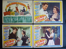 EARLY MARILYN MONROE 8 LOBBY CARD SET - 1951 LET'S MAKE IT LEGAL - COMEDY DRAMA
